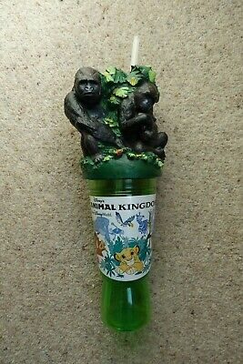 Disney Animal Kingdom Refillable Drinks Container With Gorillas • 5.95£