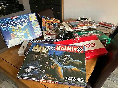 Escape From Colditz Vintage Board Game From Parker Games - See Description (Wic) • 20£