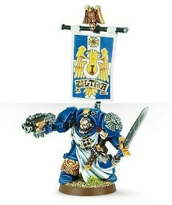 Warhammer 40k Space Marine Captain In Terminator Armour HQ FineCast NEW Blister • 10£