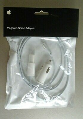 $9.99 • Buy Apple MagSafe Airline Adapter MB441Z/A - NEW FACTORY SEALED