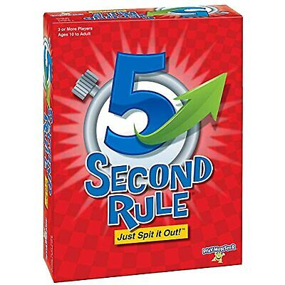 AU20.21 • Buy PlayMonster 5 Second Rule Game - New Edition