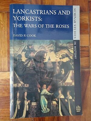 Libro Lancastrians And Yorkists The Wars Of The Roses Historia David R Cook • 10.42£