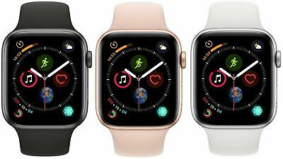 $179.99 • Buy Apple Watch Series 4 40mm 44mm GPS + WiFi + Cellular Smart Watch, All Colors!