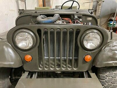 $24.52 • Buy M38A1 M170 Early CJ5 Complete Hood Grill Rest Welt Anti-chafe Kit Willys Jeep