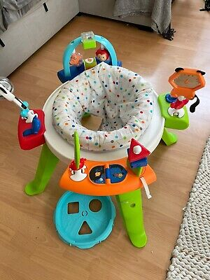 Fisher-Price 3-in-1 Spin And Sort Activity Centre Sit And Play Seat Baby GGC60 • 35£