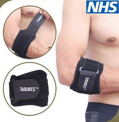 Alikes Tennis Elbow Support Brace Golfer's Strap Epicondylitis Clasp Lateral Gym • 3.89£