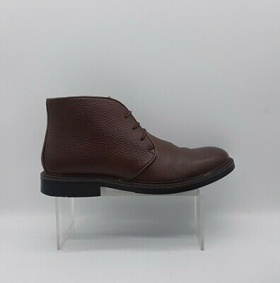 Men's PAVERS Size 7 Brown Leather Chukka Boots  Laced Excellent Used Condition • 25.50£
