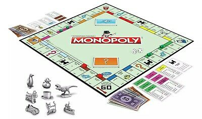 New Monopoly Classic Board Game From Hasbro Gaming • 34.02£