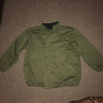 $35 • Buy Vintage XL OD Green Military Chemical Protective Suit Jacket & Pants Winfield