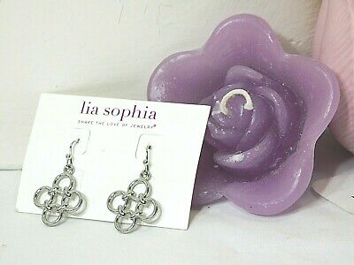 $ CDN10.50 • Buy Lovely Lia Sophia  FOUR-TET  Pierced Dangle Earrings, NWT