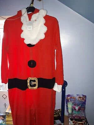 £21.99 • Buy Santa Claus 1onsie Size S/m With Removable Beard Rrp £28