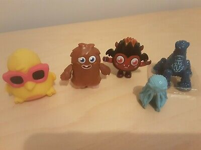 £4.99 • Buy Moshi Monsters DJ Quack And Others, Collectable Toys