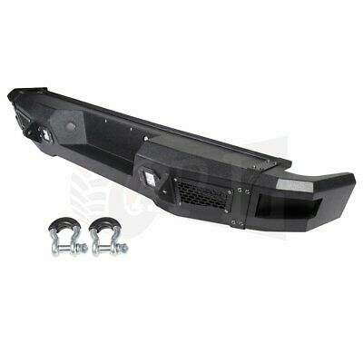 $649.26 • Buy For Ford F 150 2009-2014 Rear Bumper Guard Black Complete Assembly + Led Lights