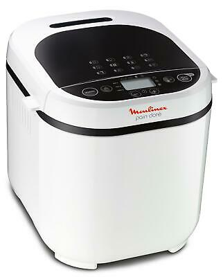 View Details 3045385783381 Moulinex OW210130 Bread Maker White 720 W Moulinex • 143.42£