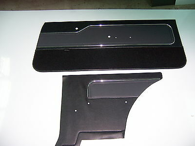 AU850 • Buy  Holden LX Hatchback Torana  F+r Door Trims/slate Colour /golfball Inserts