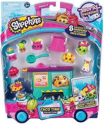 £11.75 • Buy Shopkins Deluxe Packs - Taco Time Collection, Girls Mini Figure Collectable Toys