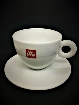 Illy Cappuccino Cup And Saucer Made In Ipa Italy • 12.99£