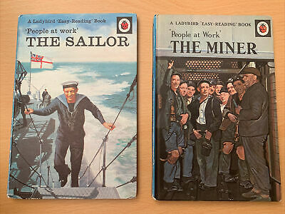 Vintage Ladybird Books ,The Sailor & The Miner, People At Work Series • 9.99£