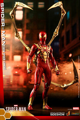 $ CDN308.76 • Buy Hot Toys Spider-Man Marvel Iron Spider Armor 1/6 Scale Figure Double Boxed New
