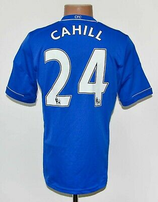 Chelsea London 2012/2013 Home Football Shirt Jersey Adidas #24 Cahill Size S • 49.99£