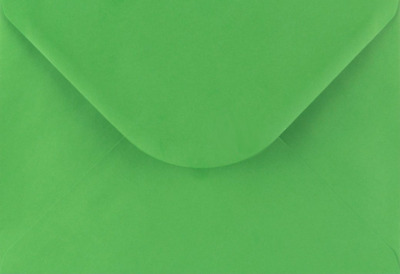 AU6.77 • Buy C5 FERN GREEN  Coloured Envelopes-Party Invitations Craft Greeting Card X 25