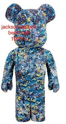 $3254.51 • Buy MEDICOM TOY Jackson Pollock BE@RBRICK Bearbrick 1000% WATER PRINT F/S