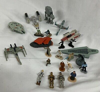 $ CDN30 • Buy Star Wars Micro Machines Lot Figures And Vehicles Vintage 90s Toy Yoda Solo C3p0