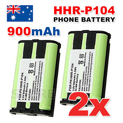 AU7.85 • Buy 3.6V Replacement Battery For Panasonic Cordless Phone HHR-P104 HHR-P104A HHRP104
