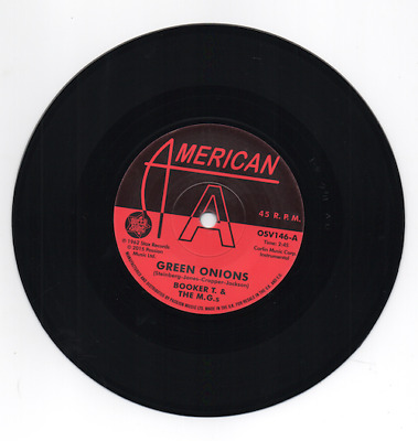 £20 • Buy BOOKER T & THE MGs Green Onions - New Northern Soul DEMO 45 (Outta Sight) 60s 7