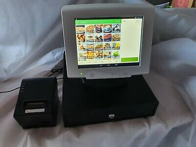 Brand New Touch Screen POS EPOS Cash Till System - NO MONTHLY FEES • 179.99£