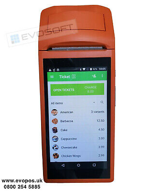 Portable Handheld Touch Screen POS EPOS Till System + Printer - NO MONTHLY FEES • 179.99£