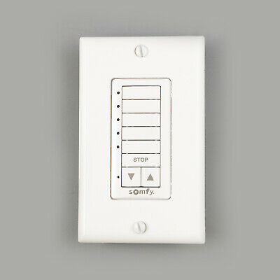 Somfy Decoflex 5 Channel Wall Switch RTS #1810813 • 91.86£