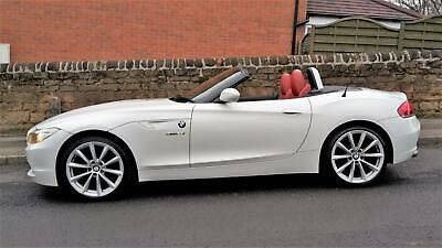 GORGEOUS 2011 WHITE Z4 2.3i 2.5 SDRIVE M SPORT ROADSTER / PX • 9,950£