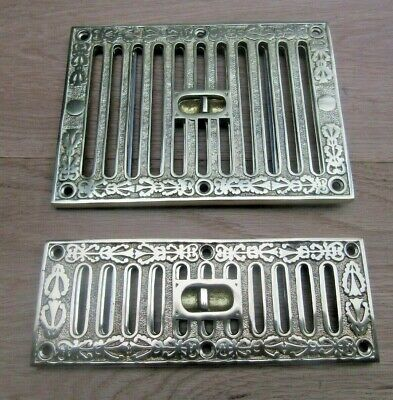 £18.95 • Buy ORNATE VINTAGE STYLE Ventilation Grille Wall Air Vent Open Shut Cover