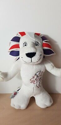 Pride The Lion GB Olympic Mascot Plush 12inches High  • 7.95£