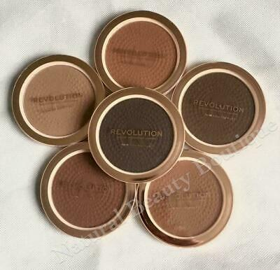 REVOLUTION Makeup MEGA BRONZER Matte Bronze Contour Powder For DARKER SKIN Tones • 7.99£