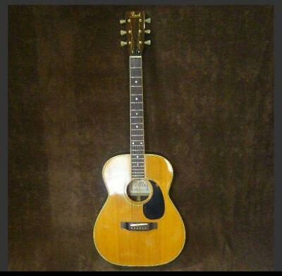 $489.25 • Buy Rare Pearl PF-200 000 Type 6 String Natural Acoustic Guitar Shipped From Japan