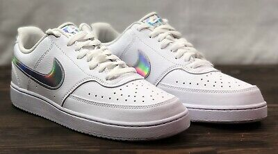 $ CDN74.99 • Buy New Womens Nike Court Vision Lo Irisdescent White Shoes CW5596-100 Size 11