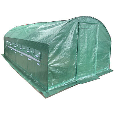 5.6m X 3m Polytunnel Galvanised Greenhouse Poly Tunnel Pollytunnel Grow Tunnel  • 249.99£