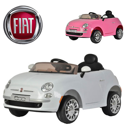 £115.99 • Buy Fiat 500 Electric Ride On Car With Parental Remote Control **brand New**