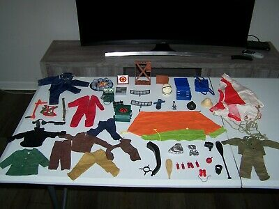 $ CDN126.31 • Buy Vintage Gi Joe Adventure Team Lot Outfits Clothes  Accessories