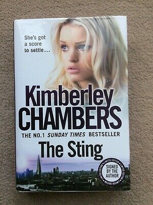 £6.99 • Buy Kimberley Chambers The Sting Signed By The Author Hard Back