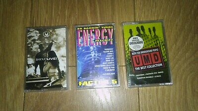 £2.99 • Buy Lot Of 3 Dance Old Skool Rave Techno Cassette Albums Mint Condition FREE UK P&P