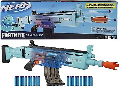 AU132.05 • Buy Nerf Fortnite Motorized AR Rippley Blaster Ages 8+ Toy Game Gun Fire Fight Play