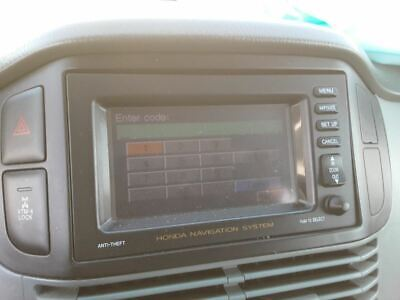 $131.99 • Buy Info-GPS-TV Screen Display Screen Dash Navigation Fits 03-05 PILOT 898465