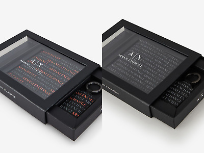 $48.53 • Buy Armani Exchange, Men's Wallet And Keychain Gift Set, All-Over Logo Sets