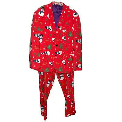 $34.99 • Buy OppoSuits Mens Christmas Blazer And Dress Pants Size 50R