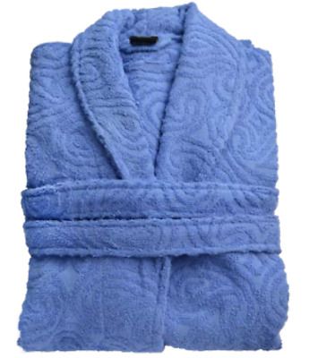 £14.99 • Buy 100%Egyptian Cotton Toweling Bath Robe Unisex Dressing Gown Luxury Terry Towel