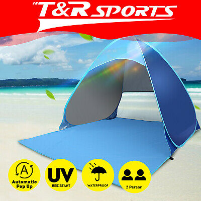 AU29.99 • Buy Pop Up Outdoor Camping Beach Tent Sun Shade Portable UV Shelter .