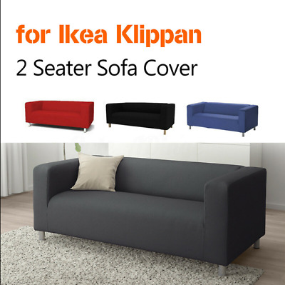 Suitable For Ikea Klippan 2-seat Sofa Cover For Protection Of Stretch Comfort • 34.38£